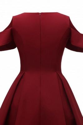 Designer Abendkleid Kurz | Rote Cocktailkleider Online_8