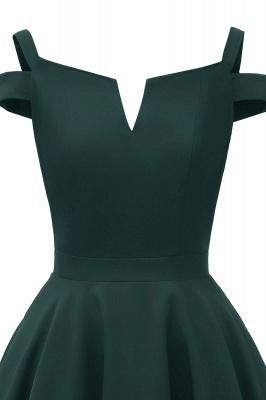 Designer Abendkleider Kurz | Weinrot Cocktailkleider Online_11