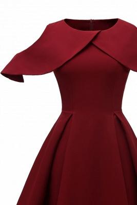 Designer Abendkleid Kurz | Rote Cocktailkleider Online_7