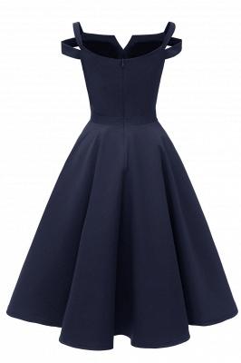 Designer Abendkleider Kurz | Weinrot Cocktailkleider Online_22
