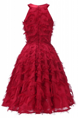 Designer Cocktailkleider Kruz | Rote Abendkleid Online_12
