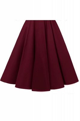 Abendkleider Mit Ärmel Rot   Cocktailkleid Kurz_17