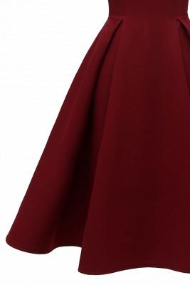 Designer Abendkleid Kurz | Rote Cocktailkleider Online_9