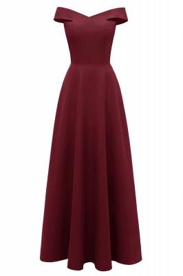 Rote Abendkleider Lang Schlicht | Vintage Abiballkleid Online_2