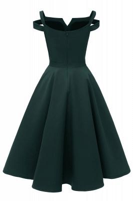 Designer Abendkleider Kurz | Weinrot Cocktailkleider Online_10