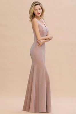 Abendkleider Lang v Ausschnitt | Abiballkleider Rosa Günstig_13