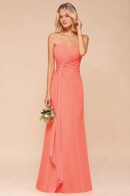 Brautjungfernkleider Lang Günstig   Orange Abendmoden Online_4