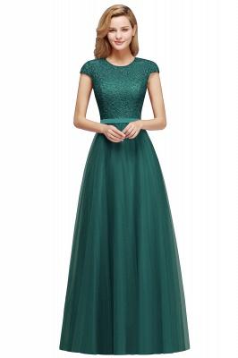 Abendkleid Rot Lang Günstig | Langes Kleid Spitze_6