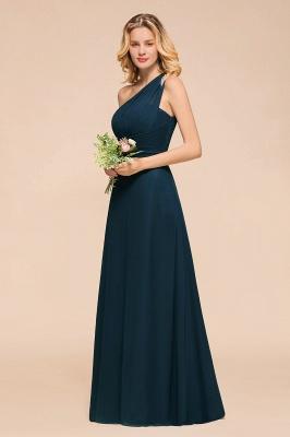 Brautjungfernkleider Dunkel Grün   Chiffon Kleider Zur Hochzeit_7