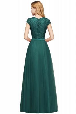 Abendkleid Rot Lang Günstig | Langes Kleid Spitze_15