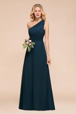 Brautjungfernkleider Dunkel Grün   Chiffon Kleider Zur Hochzeit_5