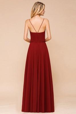 Rote Brautjungfernkleider Lang | Kleider Für Brautjungfern Günstig_3