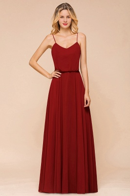Rote Brautjungfernkleider Lang | Kleider Für Brautjungfern Günstig_1