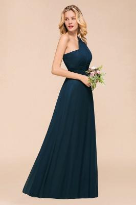 Brautjungfernkleider Dunkel Grün   Chiffon Kleider Zur Hochzeit_4