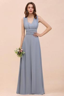 Brautjungfernkleider Lang Grau | Kleider Günstig Brautjungfer