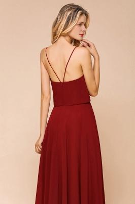 Rote Brautjungfernkleider Lang | Kleider Für Brautjungfern Günstig_8