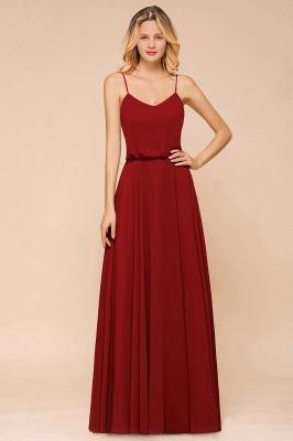 Rote Brautjungfernkleider Lang | Kleider Für Brautjungfern Günstig_4