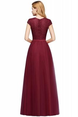 Abendkleid Rot Lang Günstig | Langes Kleid Spitze_13