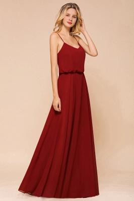 Rote Brautjungfernkleider Lang | Kleider Für Brautjungfern Günstig_5
