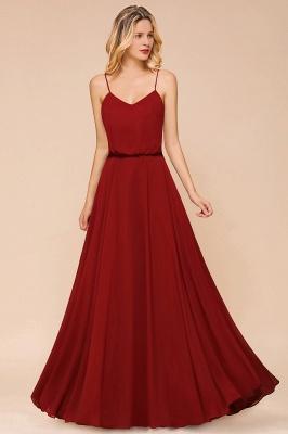 Rote Brautjungfernkleider Lang | Kleider Für Brautjungfern Günstig_6