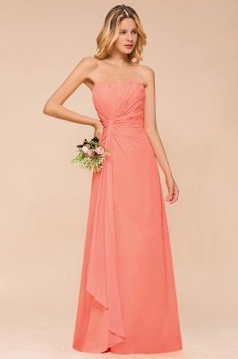 Brautjungfernkleider Lang Günstig   Orange Abendmoden Online_8