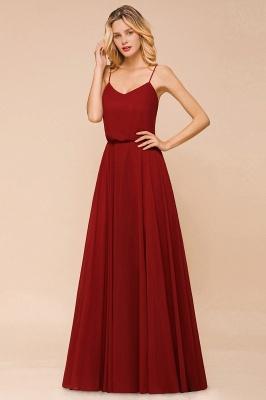 Rote Brautjungfernkleider Lang | Kleider Für Brautjungfern Günstig_7