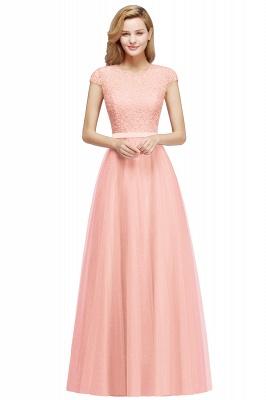 Abendkleid Rot Lang Günstig | Langes Kleid Spitze_1