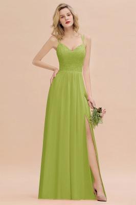 Abendkleider Lang Orange   Brautjungfernkleider Günstig_34