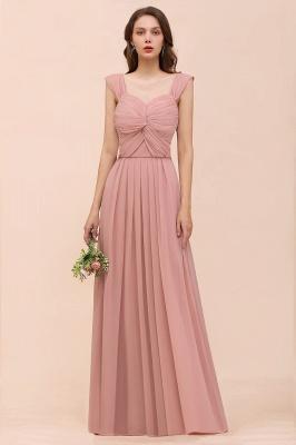 Elegante Brautjungfernkleider Altrosa | Chiffon Kleider Für Brautjungfern_1
