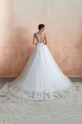 Sexy Brautkleid A Linie   Hochzeitskleider Standesamt_8