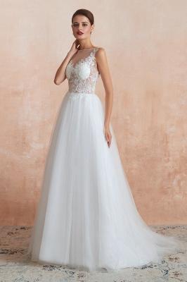 Schöne Brautkleider A Linie   Hochzeitskleider Standesamt_4
