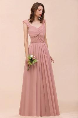 Elegante Brautjungfernkleider Altrosa | Chiffon Kleider Für Brautjungfern_7