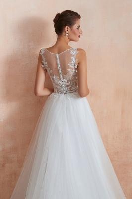 Schöne Brautkleider A Linie   Hochzeitskleider Standesamt_11