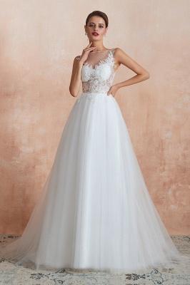 Schöne Brautkleider A Linie   Hochzeitskleider Standesamt_3