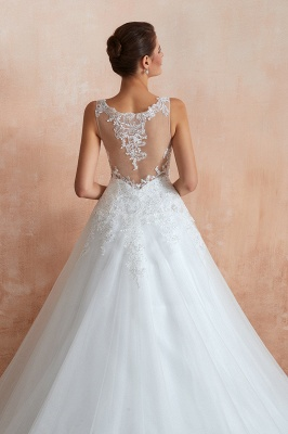 Sexy Brautkleid A Linie   Hochzeitskleider Standesamt_7
