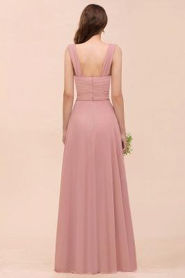 Elegante Brautjungfernkleider Altrosa | Chiffon Kleider Für Brautjungfern_3