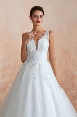 Sexy Brautkleid A Linie   Hochzeitskleider Standesamt_5
