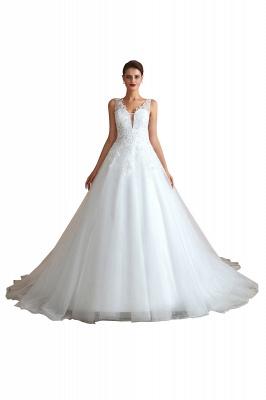 Sexy Brautkleid A Linie   Hochzeitskleider Standesamt_2
