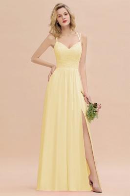 Abendkleider Lang Orange   Brautjungfernkleider Günstig_18