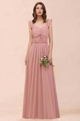 Elegante Brautjungfernkleider Altrosa | Chiffon Kleider Für Brautjungfern_5