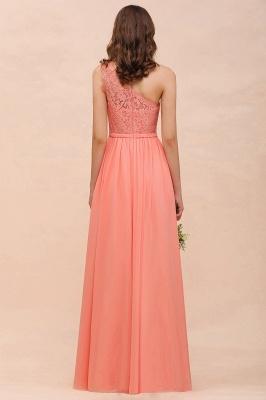 Orange Brautjungfernkleider Günstig | Lange Kleider Für Brautjungfern_3