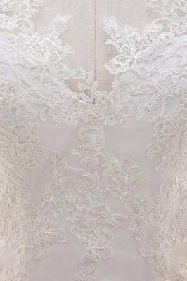Designer Hochzeitskleider Meerjungfrau | Brautkleid Spitze Online_7