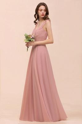 Elegante Brautjungfernkleider Altrosa | Chiffon Kleider Für Brautjungfern_6