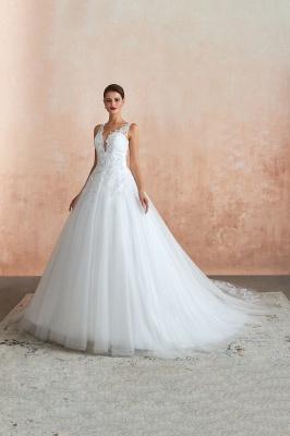 Sexy Brautkleid A Linie   Hochzeitskleider Standesamt_6