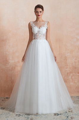 Schöne Brautkleider A Linie   Hochzeitskleider Standesamt_10