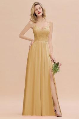 Abendkleider Lang Orange   Brautjungfernkleider Günstig_13