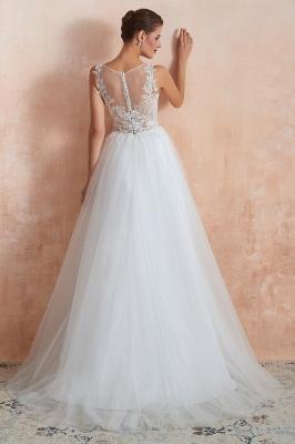 Schöne Brautkleider A Linie   Hochzeitskleider Standesamt_7