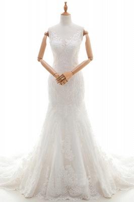Designer Hochzeitskleider Meerjungfrau | Brautkleid Spitze Online_1