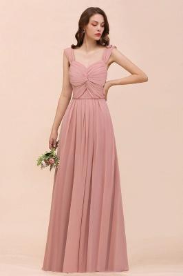 Elegante Brautjungfernkleider Altrosa | Chiffon Kleider Für Brautjungfern_4