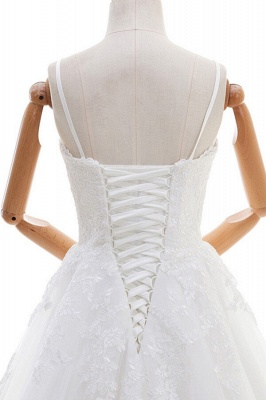 Fashion Hochzeitskleid A linie | Brautmoden mit Spitze_6